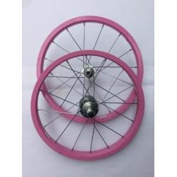 Par de rodas 16 Aero aluminio Cx Colorido