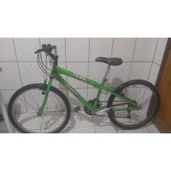 Bicicleta usada aro 24 verde