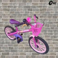Bike aro 16  reformada personagem barbie