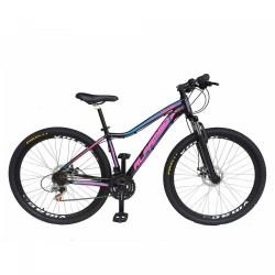 Bicicleta alfamec  Pandora feminina 21vl freio disco