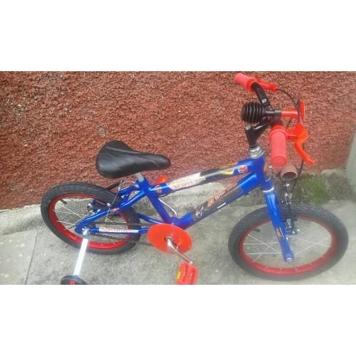Bicicleta Ben 10 Aro 16 Personalizada roda aluminio