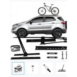 Rack Teto Para Transp,bike,mtb Bicicleta,kalf, caloi,adenosi