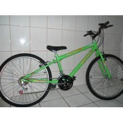 Bicicleta Aro 26 Aro Aero F,,aluminio Mtbcaloi,bike,mesa,,