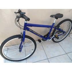 Bicicleta 26 Aero Wend 18vl,aro Natural,aluinio,mtb,caloi