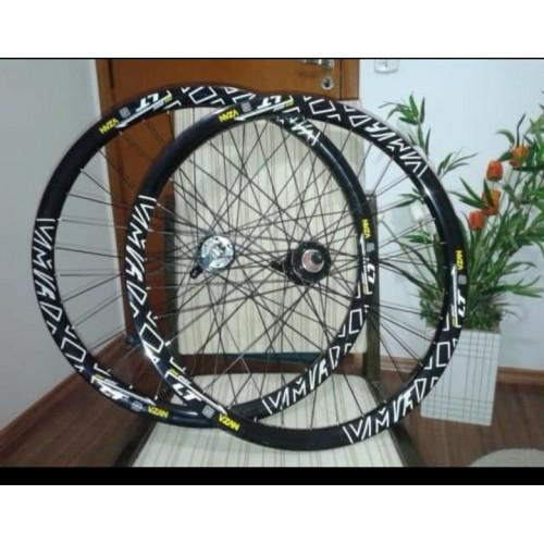 Par de rodas vzan disco s/rotor
