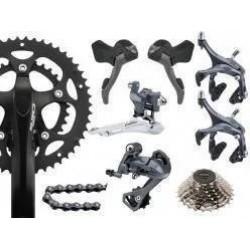 Kit Cambio Claris Speed Sem Cubos 16v, Mtb, Bike, Meia