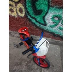 Bicicleta reformada  Aro 12 Homem Aranha