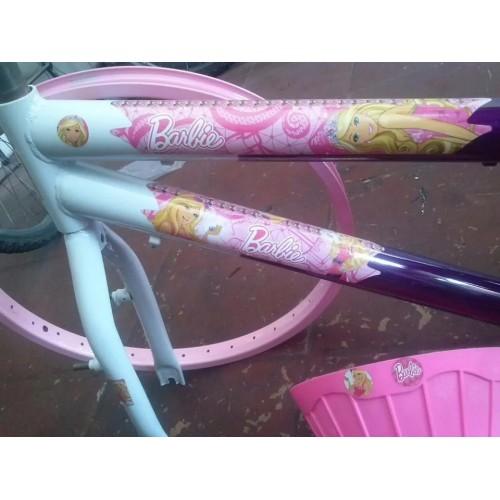 Bicicleta Barbie Aro 20 Personalizada adenosina Caloi Kalf mtb