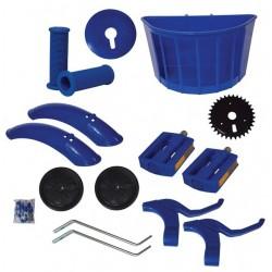 Kit Montagem Aro 16 Azul Bicicleta Infantil Menino Aces
