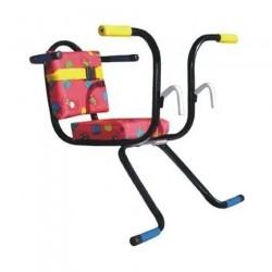 Kid Bike - Cadeirinha de bicicleta traseira para crianças com até 25Kg
